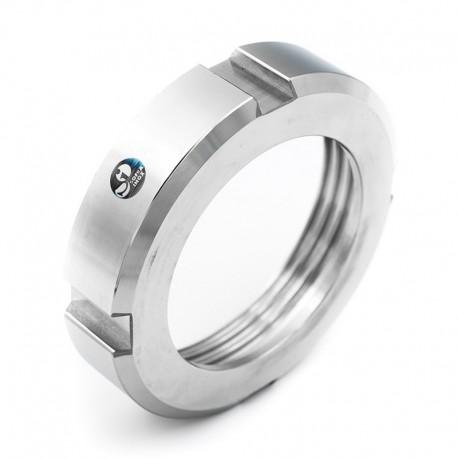 Ecrou DIN 11864-1 forme A pour tube ISO   304 1.4301