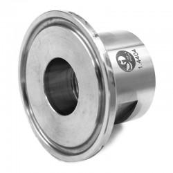 Ferrule filetée femelle cylindrique ISO 228-1 - RA inf 0,8µ - 316L