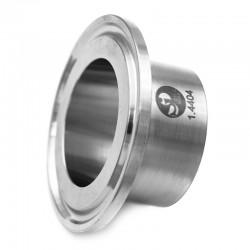Ferrule Clamp ASME-BPE standard 28.6mm - Ra 0.6 en inox 316L