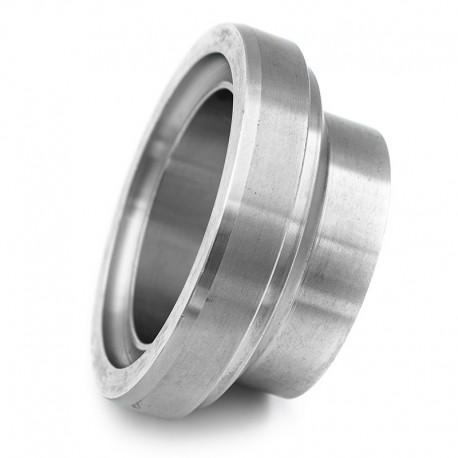 Pièce lisse courte DIN 11864-1 forme A pour tube ISO en inox 316L