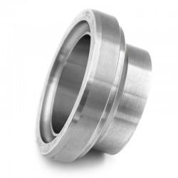 Pièce lisse courte DIN 11864-1 forme A pour tube ASME en inox 316L