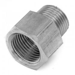 Adaptateur Mâle-Femelle Filetage gaz 316L