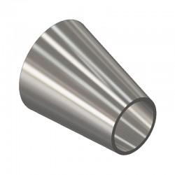 Réduction excentrique métrique à souder - 316L