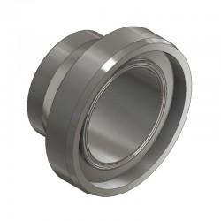 Pièce lisse courte DIN 11864-1 forme B pour tube ISO