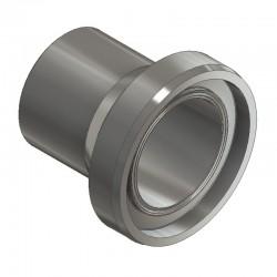 Pièce lisse longue DIN 11864-1 forme B pour tube ISO