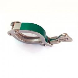 Collier clamp ASME BPE avec revêtement en céramique et écrou standard