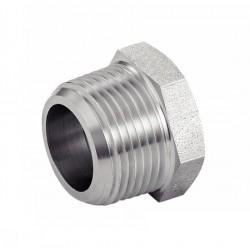 Réduction hexagonale mâle-femelle - filetage NPT - 316L - Série 3000 LBS