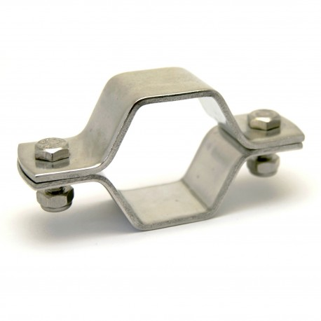 collier hexagonal sans tige - ISO 304