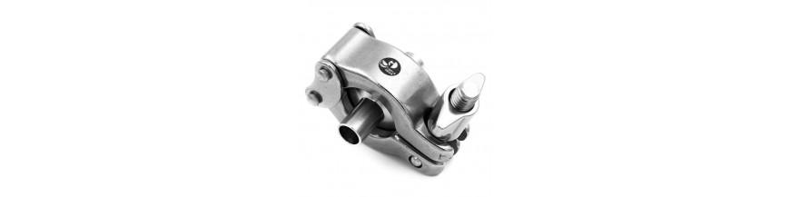 Pièces de raccord Clamp ISO 316L