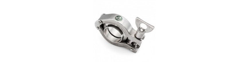 Pièces de raccord Clamp ASME-BPE 316L