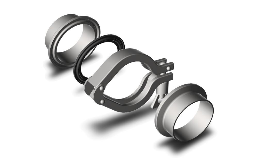 Schema raccord clamp